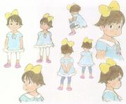 Kumiko original sketches