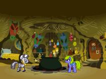 Ponyvania zecora's tree