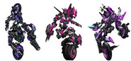 All 3 Arcee sisters