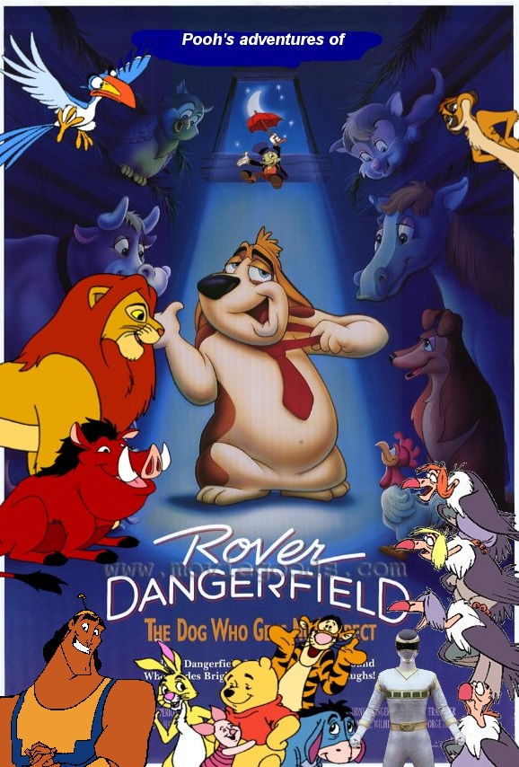 Pooh's adventures of Rover Dangerfield Poster
