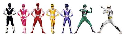 Seven spirit rangers