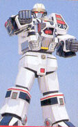 White Tigerzord Warrior Mode