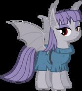 Maud Pie bat pony