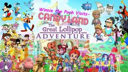 Winnie the Pooh Visits Candyland- The Great Lollipop Adventure (2nd Version)