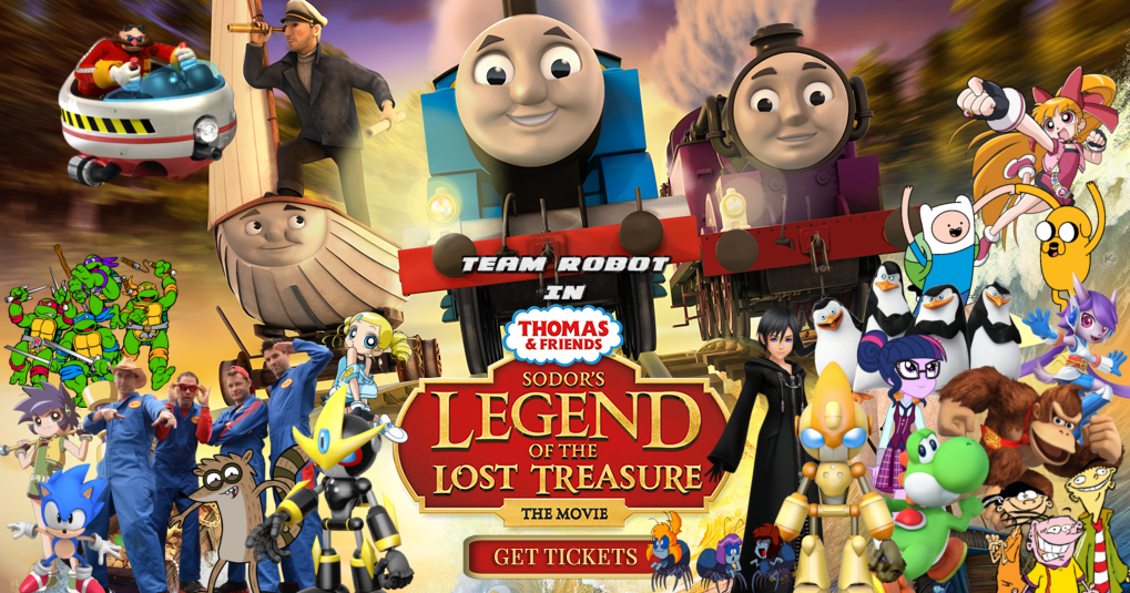 team robot in thomas and friends sodors legend of the