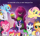 Twilight Sparkle and Barney's Great Adventure: The Movie