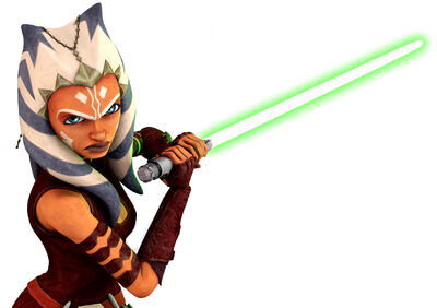Ahsoka Tano-Lightsaber Training