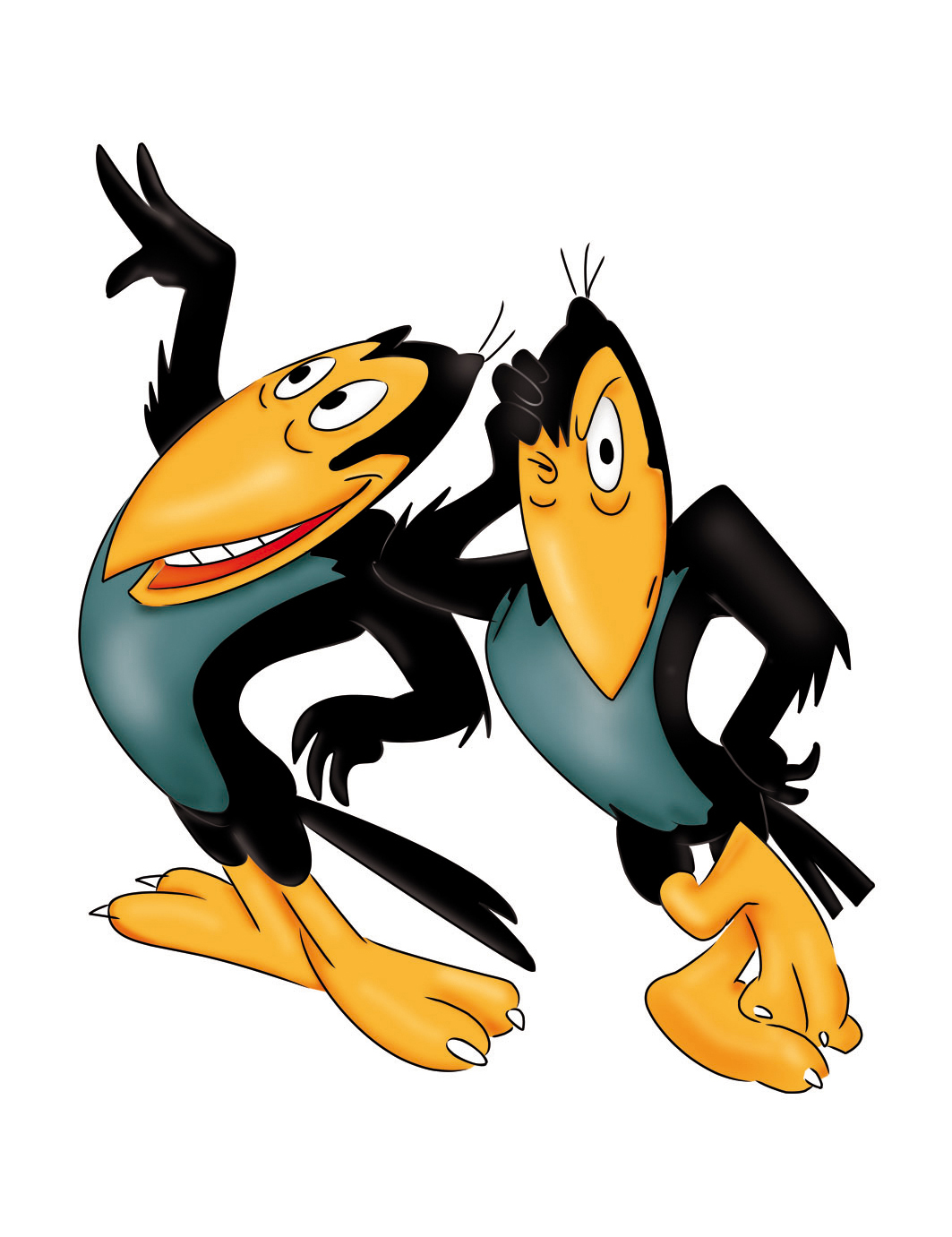 Image result for heckle and jeckle