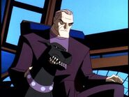 Bruce Wayne and Ace Batman Beyond