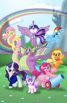 My little pony flurry heart s story by aleximusprime dd2leq7-fullview