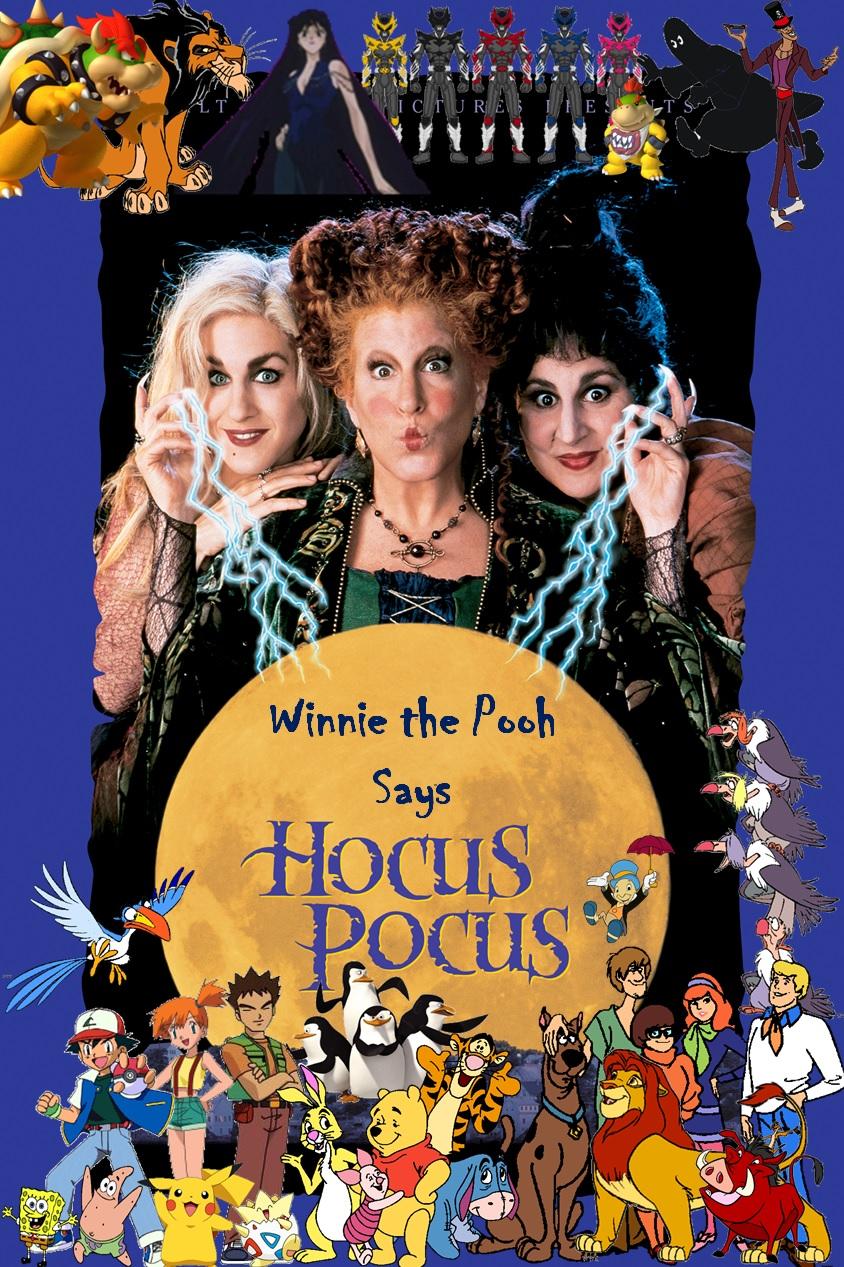 Winnie the Pooh Says Hocus Pocus Poster