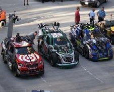 Wreckers race cars