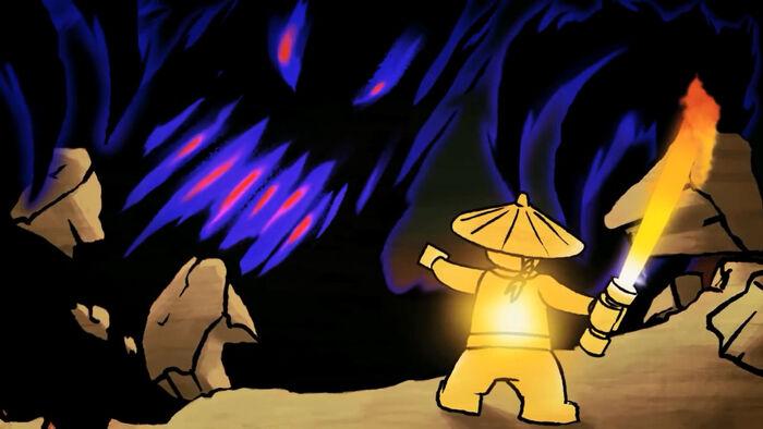 LEGO Ninjago First Spnjitzu Master vs Overlord