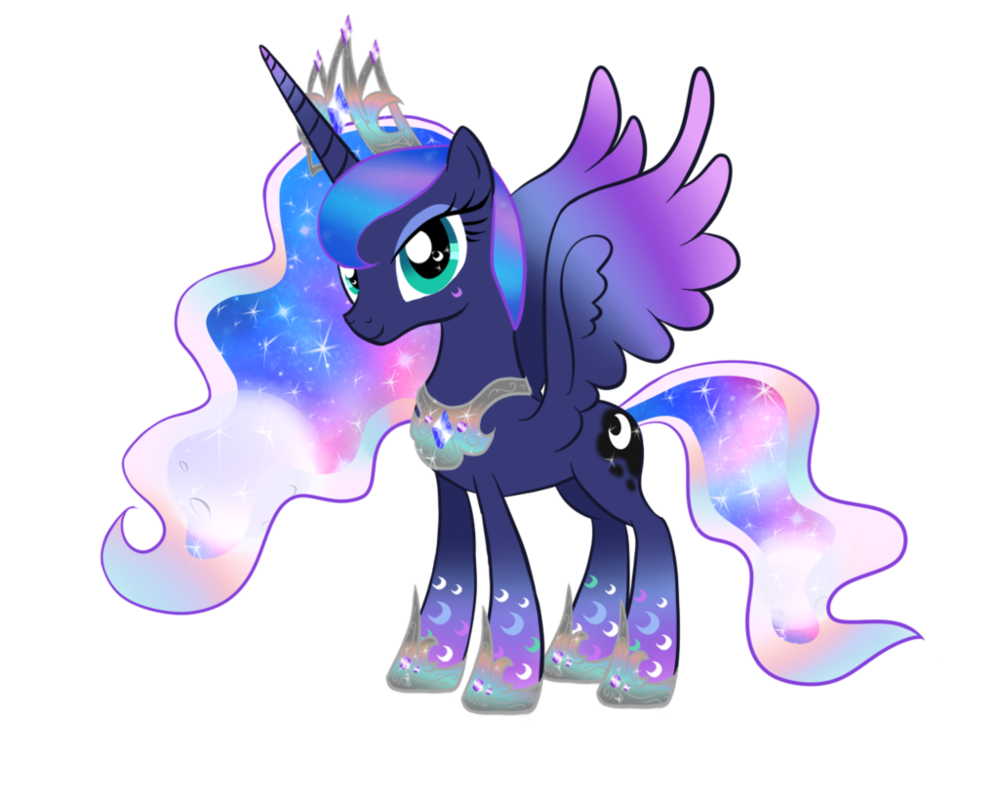 image rainbowfied princess luna by moonlightprincess002 d79jtym