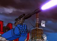 Megatron pistol form