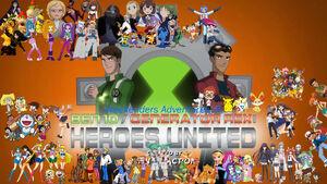 Weekenders Adventures of Ben 10 Generator Rex- Heroes United