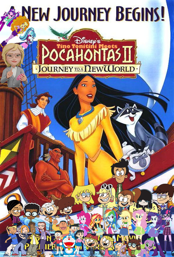 Tino Tonitini Meets Pocahontas II: Journey to a New World | Pooh\'s ...