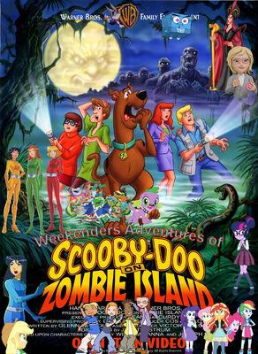 Weekenders Adventures of Scooby-Doo on Zombie Island Poster (Frogadier55's version)