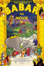 Pooh's Adventures of Babar the Movie poster