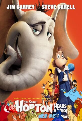 File:Simba, Timon, and Pumbaa's Adventures of Horton Hears a Who! poster.jpg