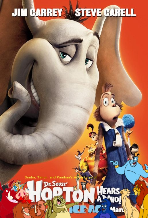 Simba, Timon, and Pumbaa's Adventures of Horton Hears a Who! poster