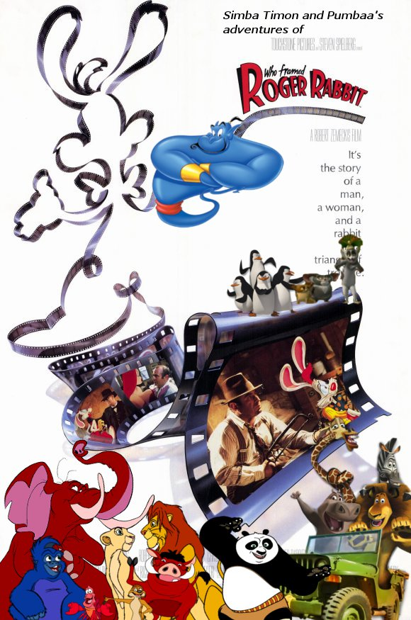 Simba, Timon, and Pumbaa\'s Adventures of Who Framed Roger Rabbit ...