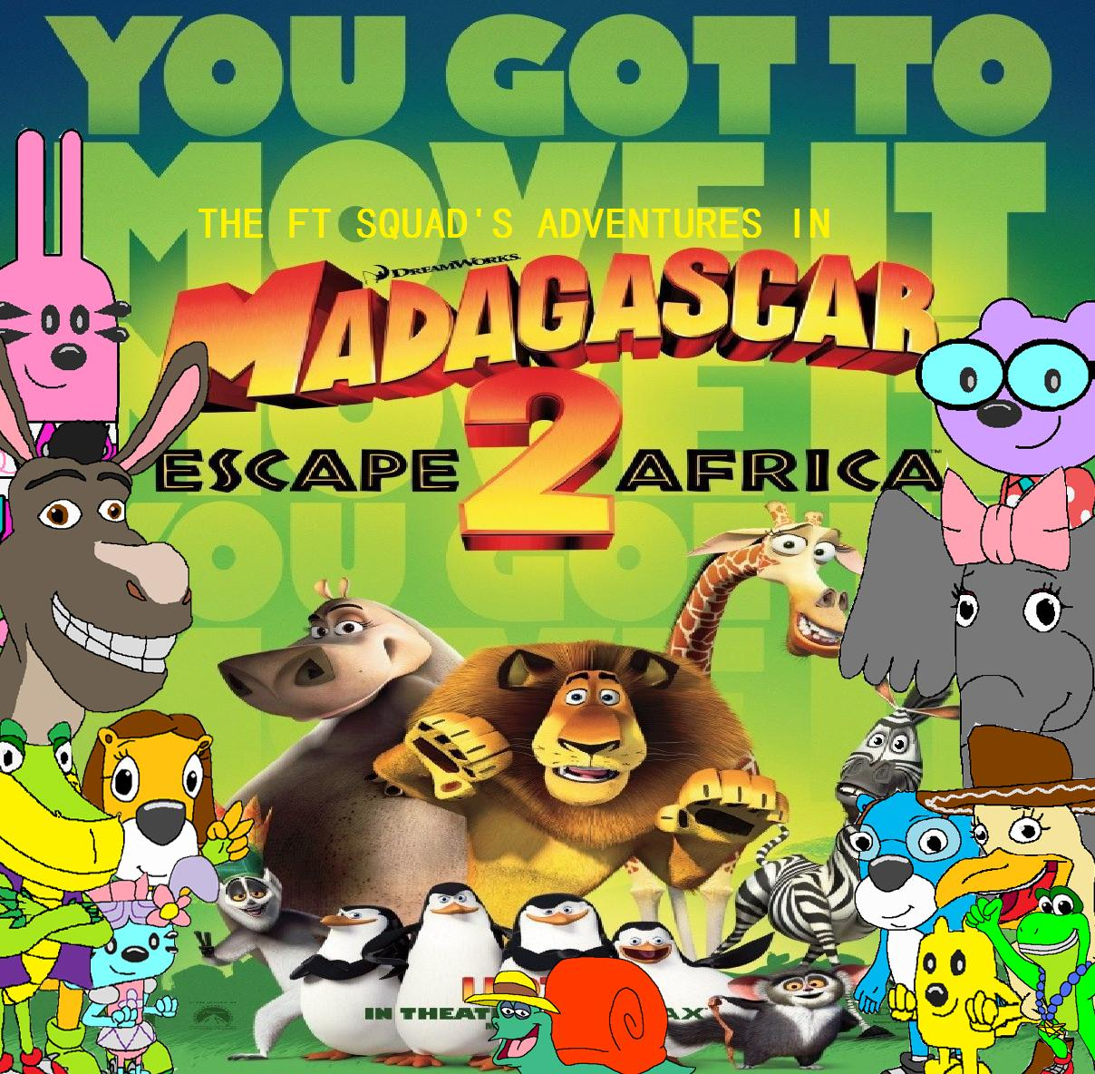 The FT Squad's Adventures in Madagascar: Escape 2 Africa
