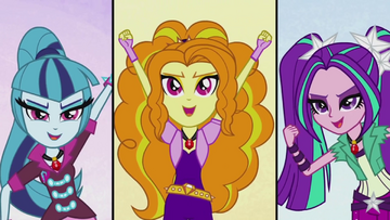 The Dazzlings singing together EG2