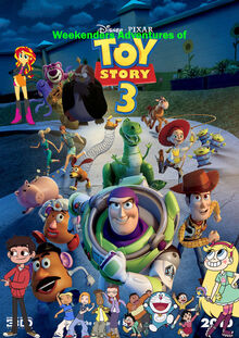 Weekenders Adventures of Toy Story 3