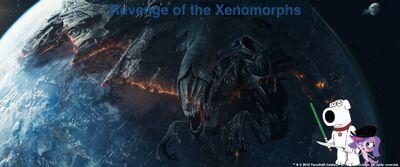 Revenge of the Xenomorphs poster
