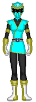 22. Cyan Data Squad Ranger