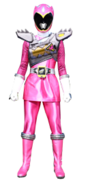 Dino Charge Pink Ranger in Dino Drive