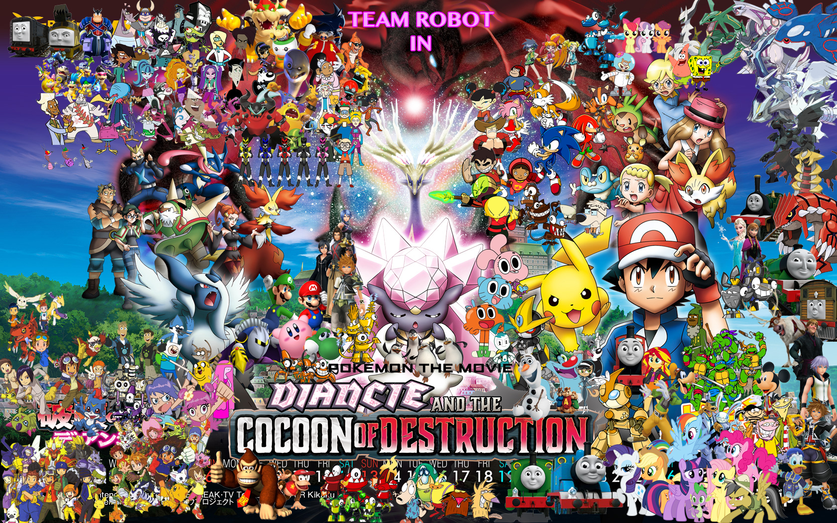 Team Robot In Pokemon Diancie The Cocoon Of Destruction