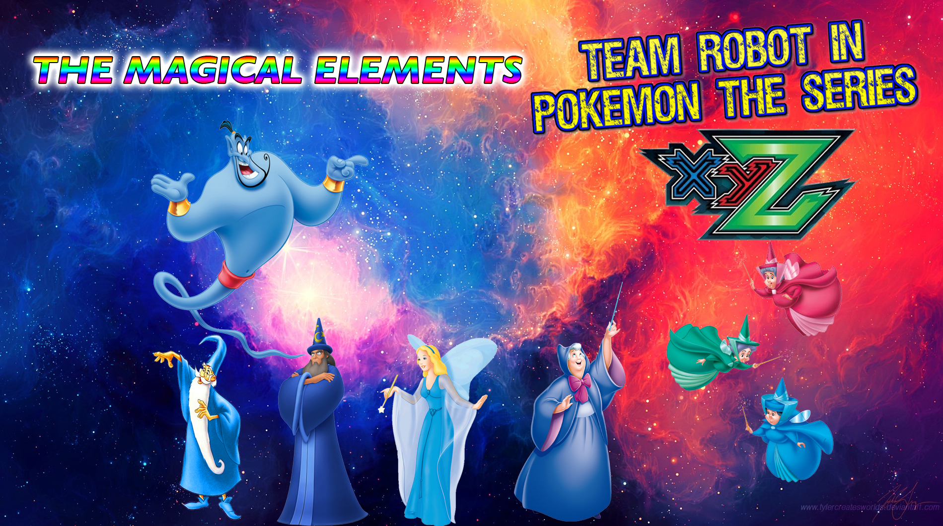 image team robot in pokemon xy z the magical elements jpg pooh s