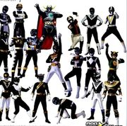 All Black Rangers