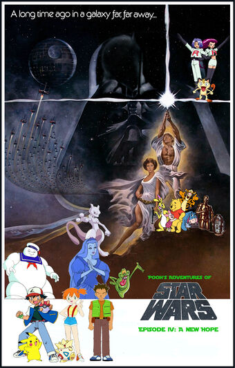 Pooh S Adventures Of Star Wars Episode Iv A New Hope Pooh S Adventures Wiki Fandom