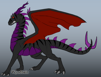 Tino's Dark Dragon Form