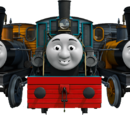 The Logging Locos (Bash, Dash and Ferdinand)