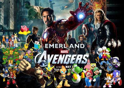 Emerl & The Avengers Poster
