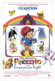 Pooh's Adventures of Pinocchio and the Emperor of the Night Poster