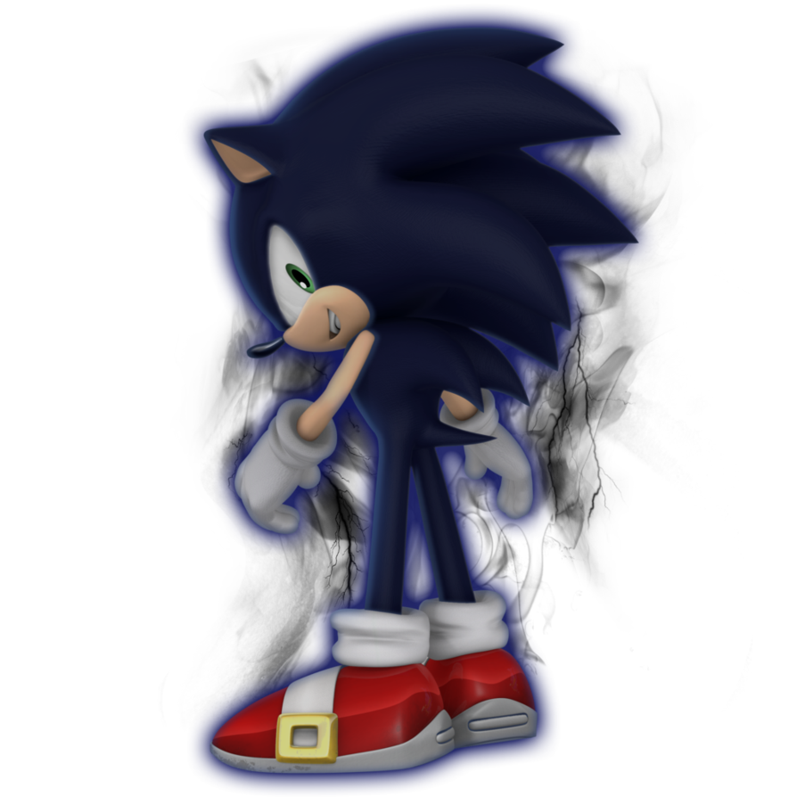 Joa Full Transformation Png: Dark Sonic Mid Transformation By Nibroc Rock