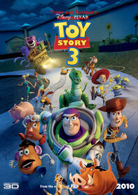 Timon and Pumbaa's Adventures of Toy Story 3 poster