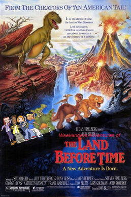 Weekenders Adventures of The Land Before Time (Remake)