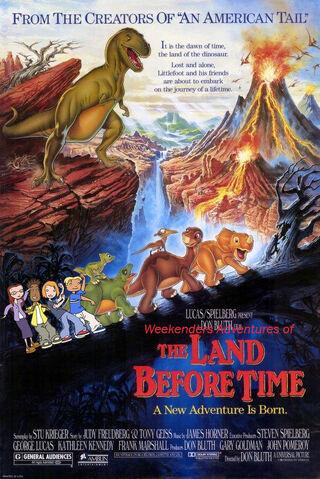 File:Weekenders Adventures of The Land Before Time (Remake).jpg
