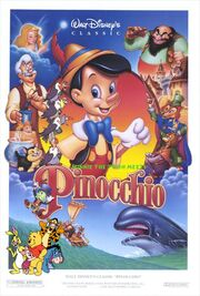 Winnie the Pooh Meets Pinocchio Poster