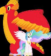 Celestia and her Sun Phoenix