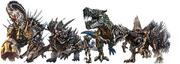 Dinobots -live film-