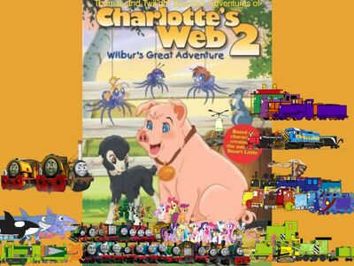 Thomas and Twilight Sparkle's Adventures of Charlotte's Web 2