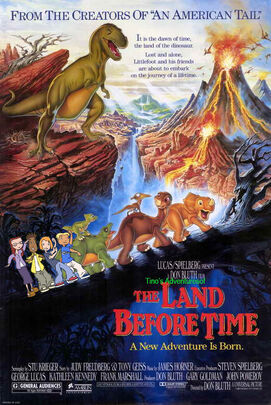 Tino's Adventures of The Land Before Time