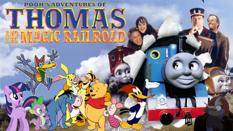 Pooh's adventures of Thomas and the Magic Railroad Poster 2
